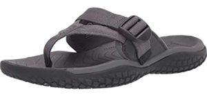 Keen Men's SOLR Toe Post - Flip Flop Sandal for Water