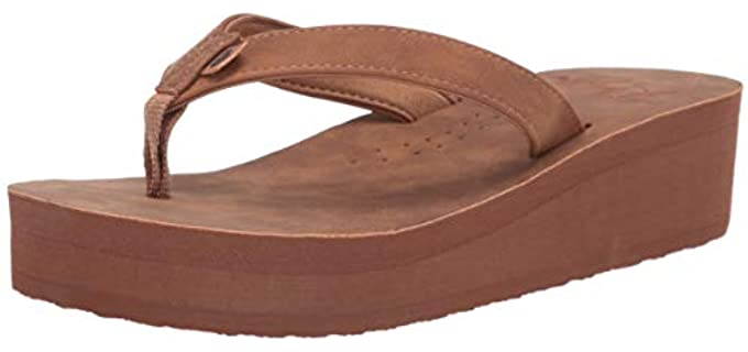 Roxy Women's Melinda - Platform Flip Flops